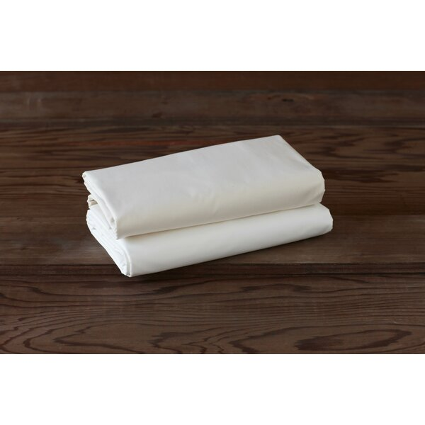 Percale 220 Thread Count 100% Cotton Flat sheet by Coyuchi